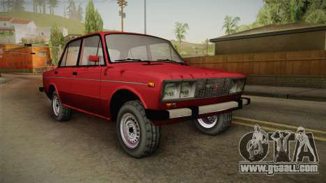 VAZ 2106 SA Style v2 for GTA San Andreas