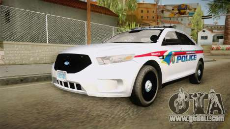 Ford Taurus 2014 YRP for GTA San Andreas right view