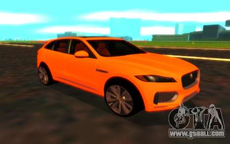 Jaguar F-Pace for GTA San Andreas