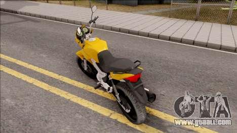 Honda Titan 150 Mix for GTA San Andreas left view