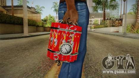 Dynamite With Clock China Wind for GTA San Andreas third screenshot