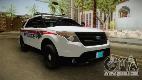 Ford Explorer 2012 YRP for GTA San Andreas right view