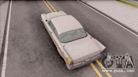 Plymouth Fury 1958 HQLM for GTA San Andreas back view