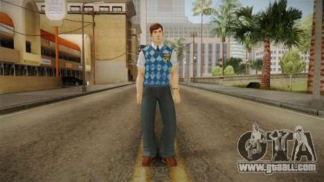 Gord Vendome from Bully Scholarship for GTA San Andreas second screenshot