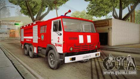 KamAZ 53212 Fire truck in the city of Arzamas for GTA San Andreas