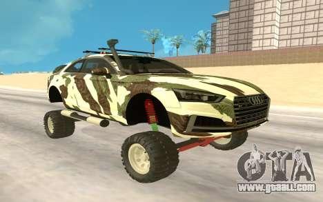 Audi S5 Off Road for GTA San Andreas