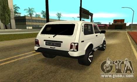 Lada Urban Armenian for GTA San Andreas left view