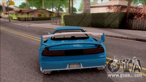 BlueRay's Infernus V9+V10 for GTA San Andreas back left view