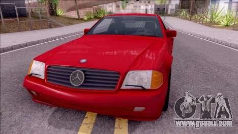 Mercedes-Benz 500SL R129 1989 for GTA San Andreas