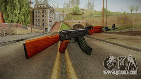 CF AK-47 v1 for GTA San Andreas second screenshot