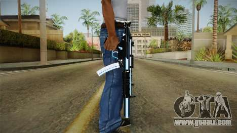 MP5 Fulmicotone for GTA San Andreas third screenshot