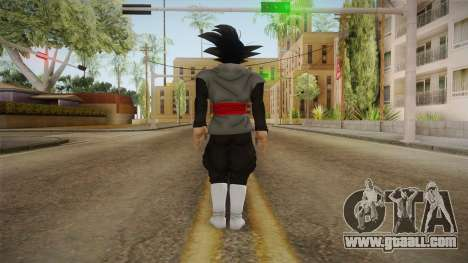 DBX2 - Goku Black SJ v2 for GTA San Andreas third screenshot