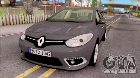 Renault Fluence 2016 for GTA San Andreas
