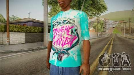 T-Shirt Bring Me The Horizon for GTA San Andreas