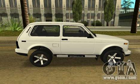 Lada Urban Armenian for GTA San Andreas back left view
