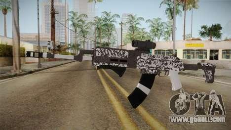 Gunrunning Assault Rifle v2 for GTA San Andreas