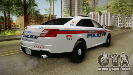Ford Taurus 2014 YRP for GTA San Andreas left view
