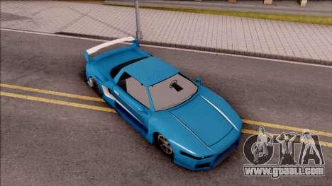 BlueRay's Infernus V9+V10 for GTA San Andreas right view