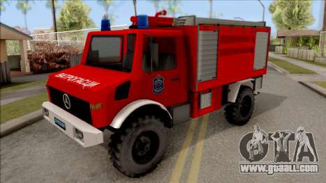 Mercedes-Benz Unimog Vatrogasna Kamion for GTA San Andreas