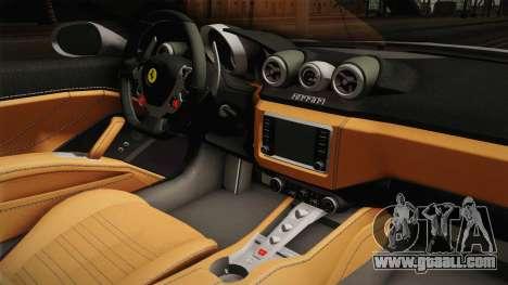 Ferrari California T for GTA San Andreas inner view