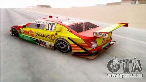 Chevrolet Sonic JL G 09 Stock V8 for GTA San Andreas back left view