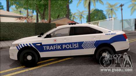 Ford Taurus Turkish Traffic Police for GTA San Andreas left view