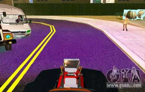 XeNON Hid 30000K PuRple for GTA San Andreas second screenshot