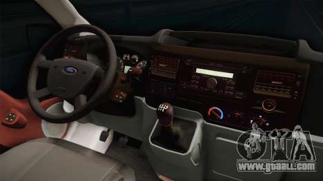 Ford Transit Ambulance of the city of Kharkov for GTA San Andreas inner view