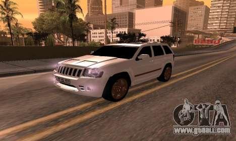 Jeep Grand Cherokee SRT8 Armenian for GTA San Andreas