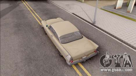 Plymouth Belvedere 1958 IVF for GTA San Andreas back view