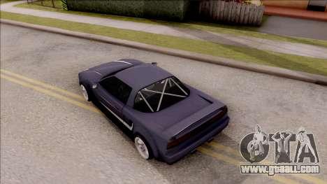 BlueRay Infernus R v1 for GTA San Andreas back view