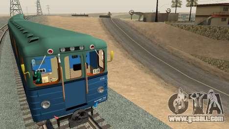 Metrostav type E for GTA San Andreas left view
