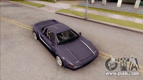 BlueRay Infernus R v1 for GTA San Andreas right view