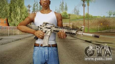 Battlefield 3 - M16 for GTA San Andreas third screenshot