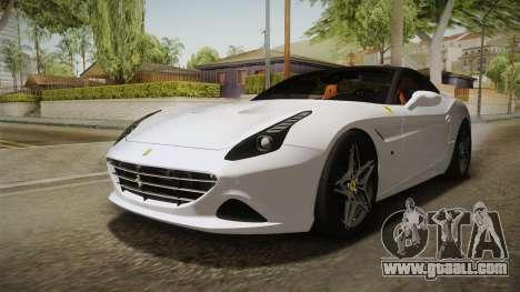Ferrari California T for GTA San Andreas right view