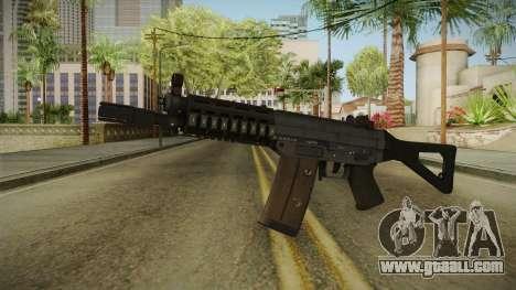 Battlefield 4 SG553 Assault Rifle for GTA San Andreas