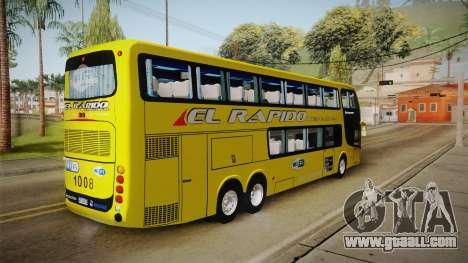 Niccolo 2250 El Rapido for GTA San Andreas left view