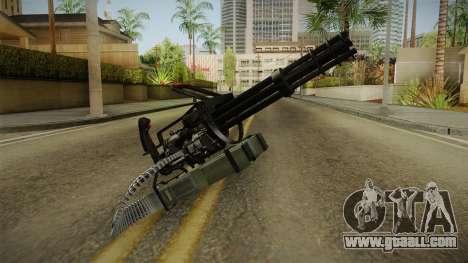 Minigun China Wind for GTA San Andreas