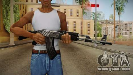 CF AK-47 v4 for GTA San Andreas