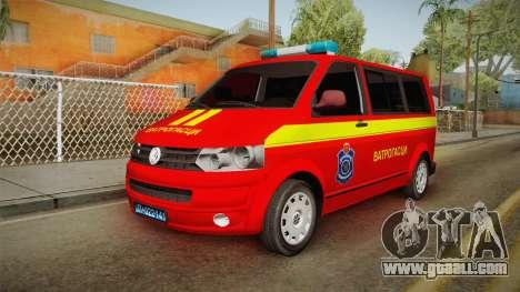 Volkswagen T5 Border Police for GTA San Andreas