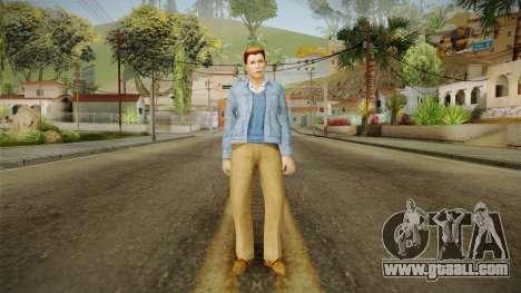 Lucky De Luka from Bully Scholarship for GTA San Andreas second screenshot