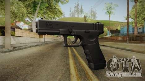 Glock 17 3 Dot Sight Yellow for GTA San Andreas