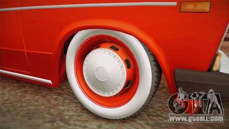 VAZ 2106 Resto for GTA San Andreas back view