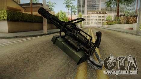 Minigun China Wind for GTA San Andreas second screenshot