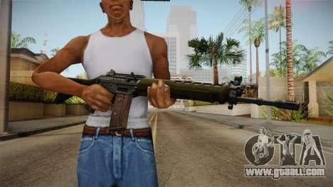 SIG SG-550 Assault Rifle for GTA San Andreas third screenshot