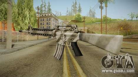Battlefield 3 - M16 for GTA San Andreas second screenshot