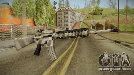 Battlefield 3 - M16 for GTA San Andreas