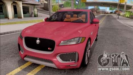 Jaguar F-Pace S for GTA San Andreas