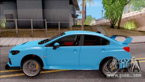 Subaru WRX STI 2017 Tuning for GTA San Andreas left view