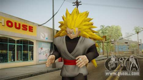 DBX2 - Goku Black SSJ3 v2 for GTA San Andreas